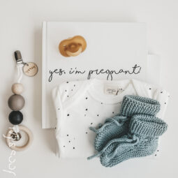 Gebreide Baby Slofjes 6/12 maanden Ivy and Soof